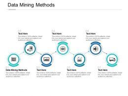 Data Mining Methods Ppt Powerpoint Presentation Portfolio Template Cpb