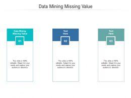 Data Mining Missing Value Ppt Powerpoint Presentation Portfolio Slides Cpb