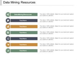 Data Mining Resources Ppt Powerpoint Presentation Gallery Grid Cpb