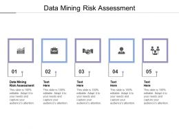 Data Mining Risk Assessment Ppt Powerpoint Presentation Infographics Format Ideas Cpb
