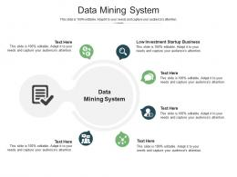 Data Mining System Ppt Powerpoint Presentation Show Inspiration Cpb