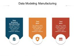 Data Modeling Manufacturing Ppt Powerpoint Presentation Styles Graphic Images Cpb