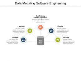 Data Modeling Software Engineering Ppt Powerpoint Presentation Pictures Cpb
