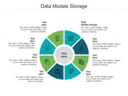 Data Models Storage Ppt Powerpoint Presentation Infographics Icons Cpb