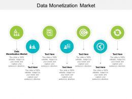 Data Monetization Market Ppt Powerpoint Presentation Gallery Slides Cpb