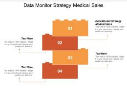 Data Monitor Strategy Medical Sales Ppt Powerpoint Presentation Ideas Clipart Images Cpb