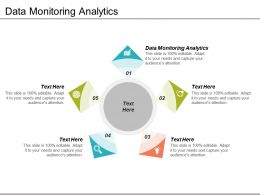 Data Monitoring Analytics Ppt Powerpoint Presentation Icon Elements Cpb