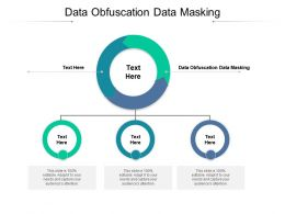 Data Obfuscation Data Masking Ppt Powerpoint Presentation Slides Themes Cpb