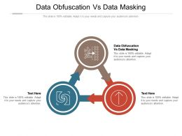 Data Obfuscation Vs Data Masking Ppt Powerpoint Presentation Infographics Outline Cpb