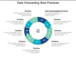 Data Onboarding Best Practices Ppt Powerpoint Presentation File Ideas Cpb