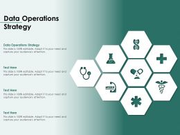 Data Operations Strategy Ppt Powerpoint Presentation Styles Themes