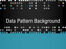 Data Pattern Background