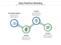 Data Predictive Modeling Ppt Powerpoint Presentation Professional Objects Cpb