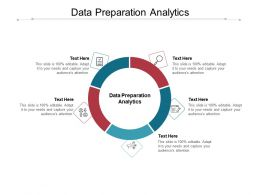 Data Preparation Analytics Ppt Powerpoint Presentation Infographic Template Sample Cpb