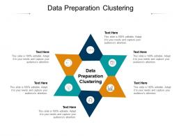 Data Preparation Clustering Ppt Powerpoint Presentation Outline Display Cpb