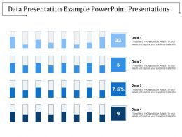 Data Presentation Example Powerpoint Presentations