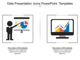 Data Presentation Icons Powerpoint Templates