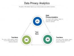 Data Privacy Analytics Ppt Powerpoint Presentation Ideas Summary Cpb