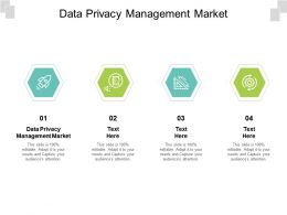 Data Privacy Management Market Ppt Powerpoint Presentation Slides Themes Cpb