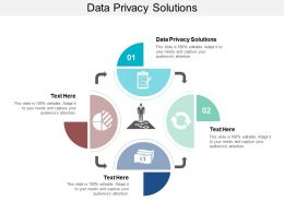 Data Privacy Solutions Ppt Powerpoint Presentation Gallery Microsoft Cpb