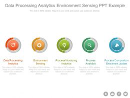Data Processing Analytics Environment Sensing Ppt Example