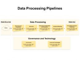 Data Processing Pipelines
