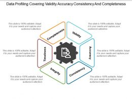 Data Profiling Covering Validity Accuracy Consistency And Completeness