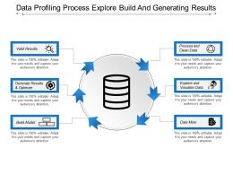 Data Profiling Process Explore Build And Generating Results
