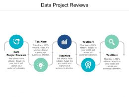 Data Project Reviews Ppt Powerpoint Presentation Pictures Background Images Cpb