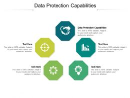 Data Protection Capabilities Ppt Powerpoint Presentation Summary Pictures Cpb