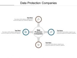 Data Protection Companies Ppt Powerpoint Presentation Inspiration Infographics Cpb