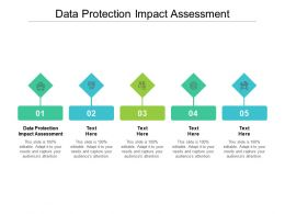 Data Protection Impact Assessment Ppt Powerpoint Presentation Infographics Styles Cpb