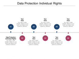 Data Protection Individual Rights Ppt Powerpoint Presentation Icon Outfit Cpb