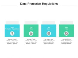 Data Protection Regulations Ppt Powerpoint Presentation Outline Microsoft Cpb