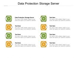 Data Protection Storage Server Ppt Powerpoint Presentation Visuals Cpb