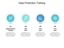 Data Protection Training Ppt Powerpoint Presentation Layouts Background Image Cpb