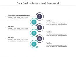 Data Quality Assessment Framework Ppt Powerpoint Presentation Professional Example Topics Cpb