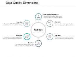 Data Quality Dimensions Ppt Powerpoint Presentation Portfolio Introduction Cpb