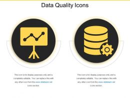 Data Quality Icons