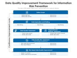 Data Quality Improvement Framework For Information Risk Prevention