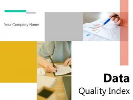 Data Quality Index Category Document Performance Certification Product Dashboard