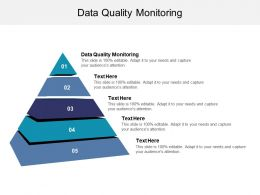 Data Quality Monitoring Ppt Powerpoint Presentation Pictures Introduction Cpb