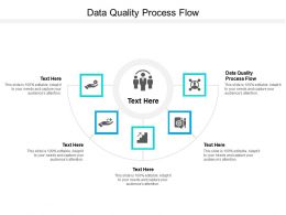 Data Quality Process Flow Ppt Powerpoint Presentation Infographics Display Cpb