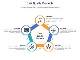 Data Quality Products Ppt Powerpoint Presentation Slides Structure Cpb