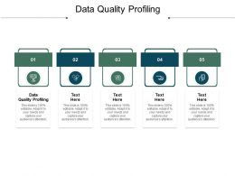 Data Quality Profiling Ppt Powerpoint Presentation Icon Shapes Cpb