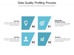 Data Quality Profiling Process Ppt Powerpoint Presentation Layouts Background Image Cpb