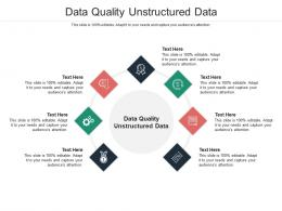 Data Quality Unstructured Data Ppt Powerpoint Presentation Infographic Template Example File Cpb