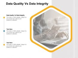 Data Quality Vs Data Integrity Ppt Powerpoint Presentation Layouts Layouts Cpb