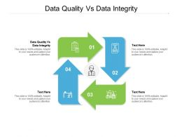 Data Quality Vs Data Integrity Ppt Powerpoint Presentation Outline Guide Cpb