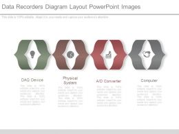 Data Recorders Diagram Layout Powerpoint Images